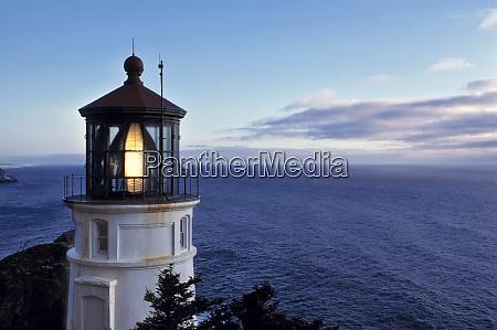 usa oregon heceta head the beacon
