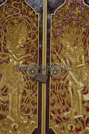indonesia bali batuan locked door of