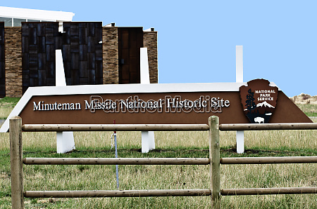 usa south dakota wall minuteman missile