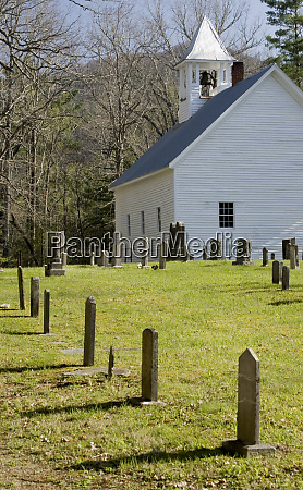 usa tennessee cades cove old church