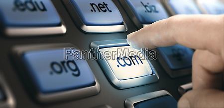 web design choosing domain extension