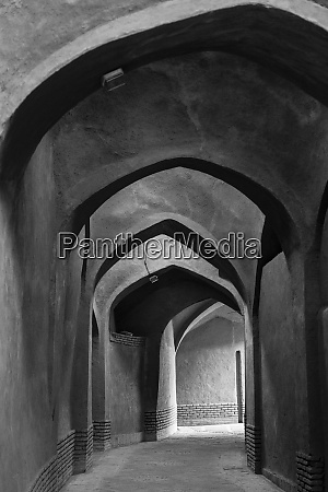 central iran yazd arches