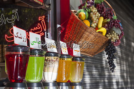 central iran esfahan soft drink cafe