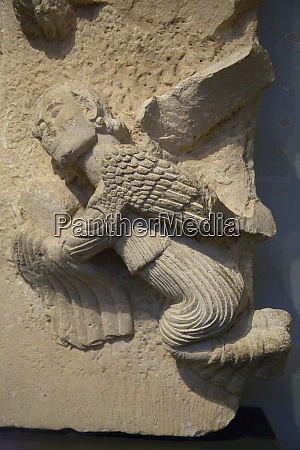 ancient carving of an angel israel