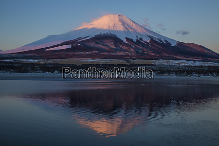 japan honshu island mt fuji and