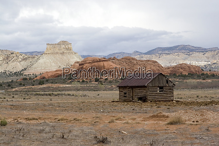 usa utah outbuilding with sandstone