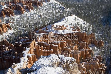 usa utah pillars of limestone