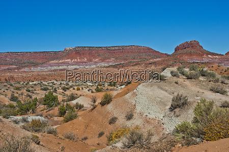 usa, , utah, , paria., view, along, trail - 27711326
