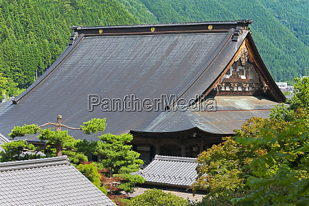 temple gujo hachiman gifu prefecture japan