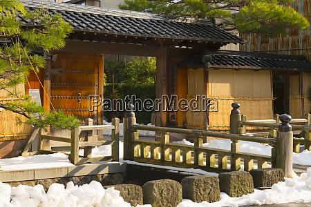 historic samurai residence turned museum in
