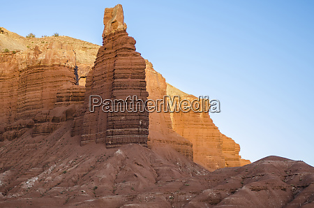 chimney rock capitol reef national park