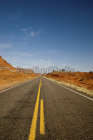usa utah capitol reef np roadway