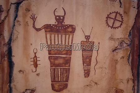 usa utah moab petroglyphs