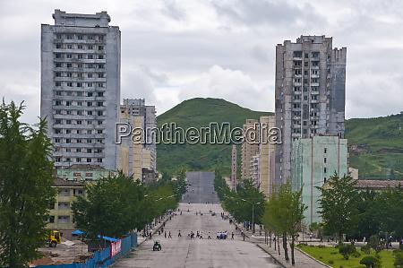apartment blocks in kaesong north korea