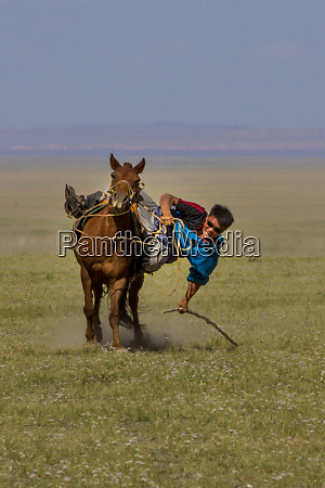 ground object pickup competition naadam festival