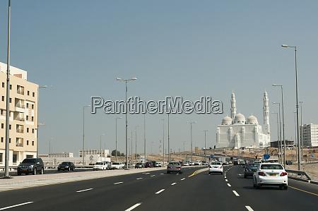 traffic jam in muscat oman