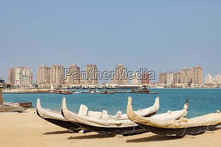 state of qatar doha beach scene