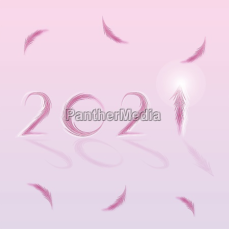 created happy new year 2021 beautiful