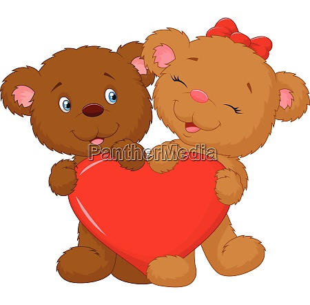 teddy thailand together toy tree valentines