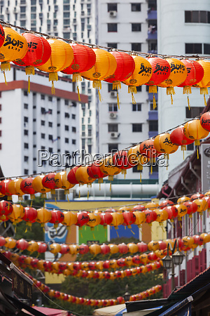 singapore chinatown lantern decorations