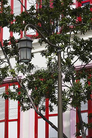 singapore chinatown street light