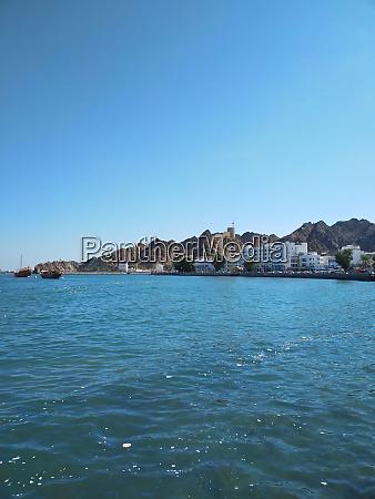 coastline of muscat capital city of