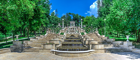 cascading fountains in chisinau moldova