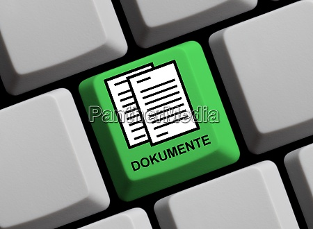 online documents in german language on