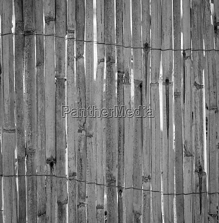texture of a reed mat with
