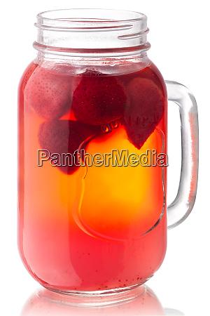 strawberry kompot jar paths