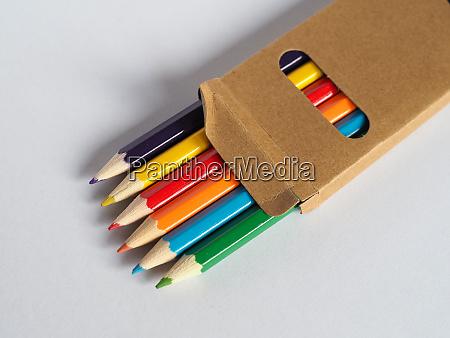 colour pencil crayon