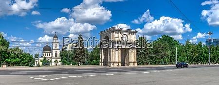 stefan cel mare boulevard in chisinau