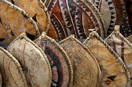 kenya handmade masai shields at a