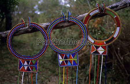 africa kenya maasai beadwork