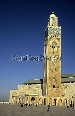 north africa morocco casablanca hassan ii