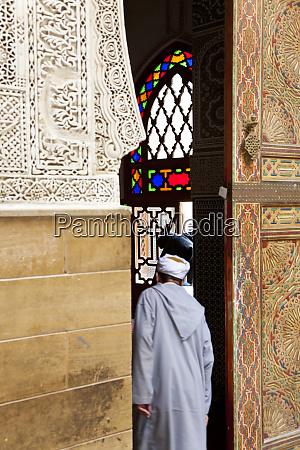entrance to mosque fez morocco