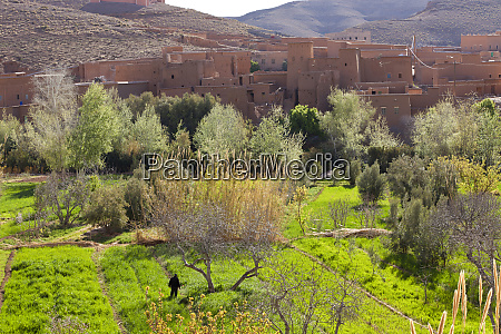 ksar or fortified village dades valley