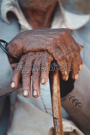 south africa nourivier village elder man