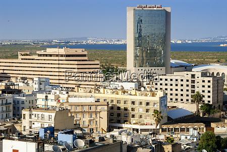 cityscape of tunis tunis tunisia north