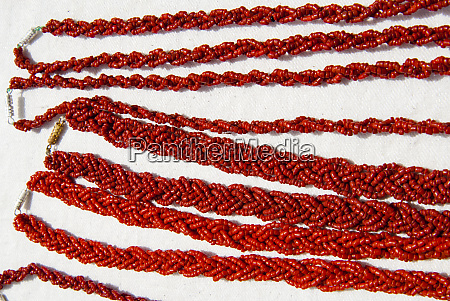 coral necklaces tabarka tunisia north africa