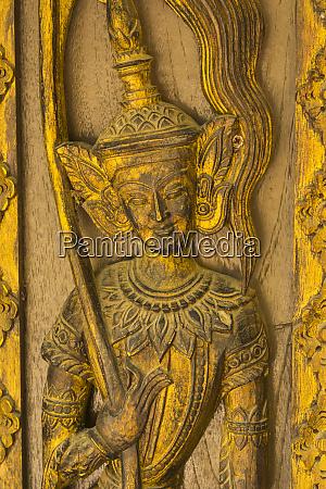 myanmar mandalay sagaing hill detail of