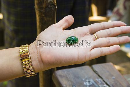 myanmar mandalay jade market highly polished