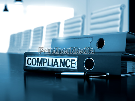compliance on folder toned image