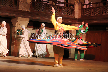 egypt cairo egyptian sufi tanoura dancer