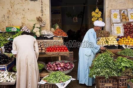vegetable seller aswan egypt