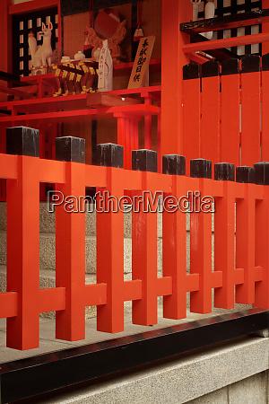 japan kyoto view of fushimi inari