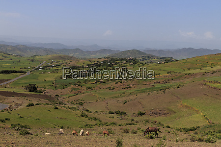 landscape omo valley ethiopia africa