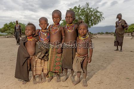 arbore kids ethiopia africa