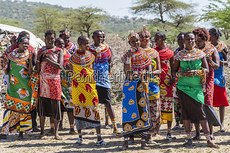 africa kenya samburu national reserve traditional