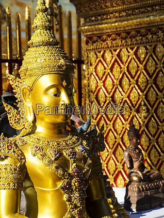 southeast asia thailand chiang mai wat